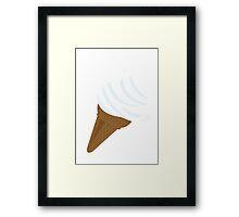 I need ice cream now Framed Print