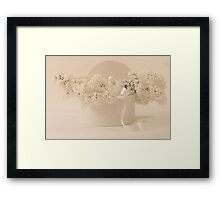 Lilac Purity In A Box Framed Print