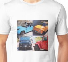 French Cars Unisex T-Shirt