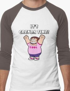 "IT""S GRENDA TIME! Men's Baseball ¾ T-Shirt"