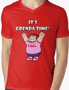 """IT""""S GRENDA TIME! Mens V-Neck T-Shirt"""