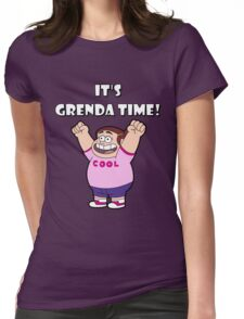"""IT""""S GRENDA TIME! Womens Fitted T-Shirt"""