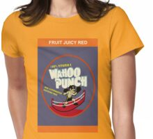 Wahoo Punch Womens Fitted T-Shirt