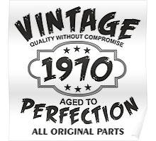Vintage 1970 Poster