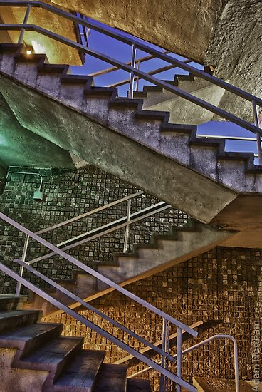 Staircase Spectrum by Adam Northam