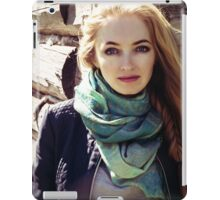 prefect skin and long fluffy curled hairstyle. iPad Case/Skin