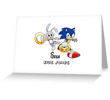 Sega 's Epic Sonic Greeting Card