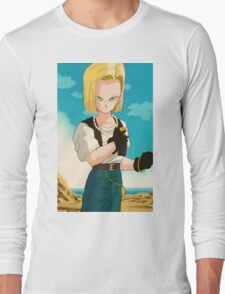 Android #18 Long Sleeve T-Shirt