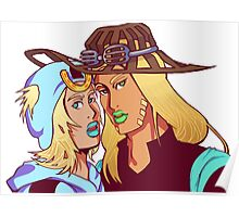 Johnny & Gyro Poster