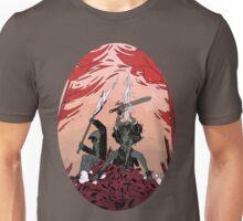 Warrior skull and girl Unisex T-Shirt