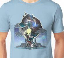 Wolf and Koi Unisex T-Shirt