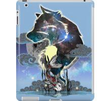 Wolf and Koi iPad Case/Skin