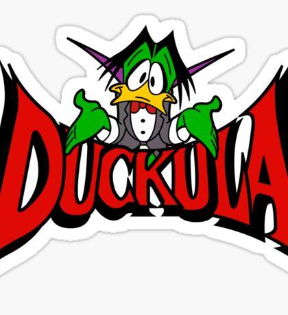 DUCKULA Sticker