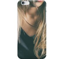 beautiful blonde hair iPhone Case/Skin