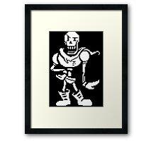 Papyrus - Undertale Framed Print