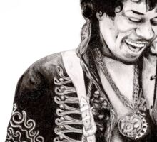 Jimi Hendrix Sticker