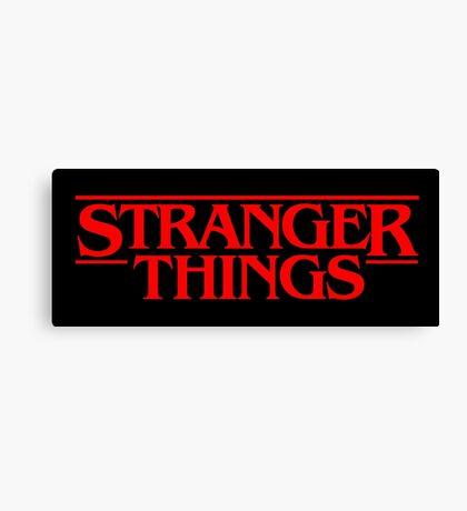 Stranger Things (Series TV) Canvas Print