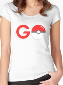 Poké Go! Women's Fitted Scoop T-Shirt