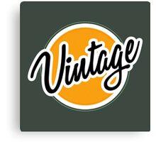 Vintage Badge Canvas Print