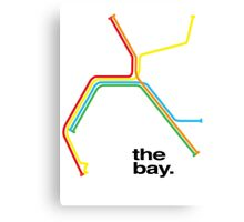 the bay. Canvas Print
