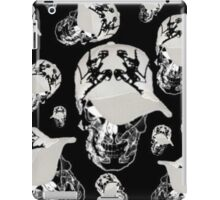 Cool Boy Skull ( collage ) iPad Case/Skin