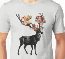Spring Itself Deer Floral Unisex T-Shirt