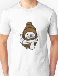 schild achtung warnung gefährlich monster gefahr stacheln baby comic cartoon süßer kleiner niedlicher igel  Unisex T-Shirt