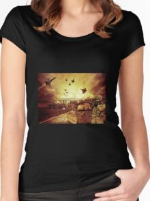 War zone Women's Fitted Scoop T-Shirt