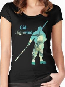 Cid Highwind Women's Fitted Scoop T-Shirt