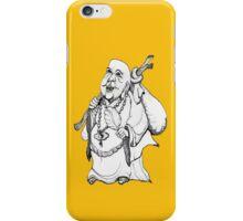 Happy Wandering Buddha  iPhone Case/Skin