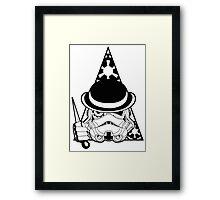 Clockwork Trooper Framed Print