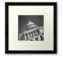 USA Capitol Framed Print