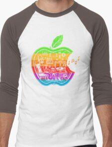 The Apple Core (color) Men's Baseball ¾ T-Shirt