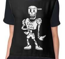 Cool Dude Papyrus - Undertale Chiffon Top