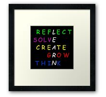 Learn! Framed Print