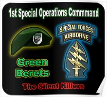 1st Special Operations Command Poster