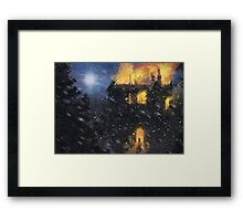 Always into the East! (Only 50!) Framed Print
