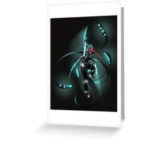 Sci-Fi cyborg and/or android Greeting Card