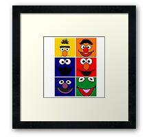 Sesame Street 2 Framed Print