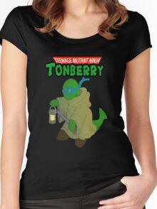 Teenage Mutant Ninja Tonberry Women's Fitted Scoop T-Shirt