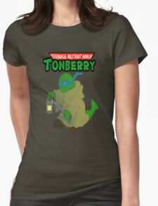 Teenage Mutant Ninja Tonberry Womens Fitted T-Shirt