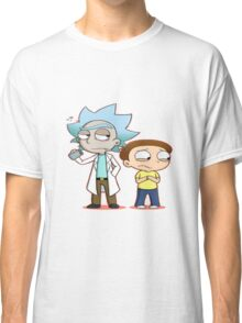 Chibi Rick And Morty Classic T-Shirt