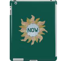 a NOW clock iPad Case/Skin