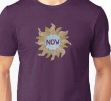 a NOW clock Unisex T-Shirt