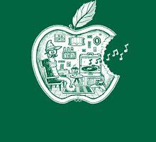 The Apple Core (white) Unisex T-Shirt