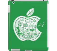 The Apple Core (white) iPad Case/Skin