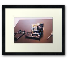 dissection  Framed Print