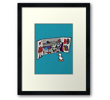 Which Duck to Be Today? Framed Print