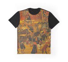 Appollonio Di Giovanni Tournament in the square of Santa Croce Graphic T-Shirt