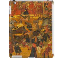 Appollonio Di Giovanni Tournament in the square of Santa Croce iPad Case/Skin